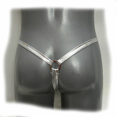 Riemenstring  - Silver Bullet Ring Chip Thong  (435)
