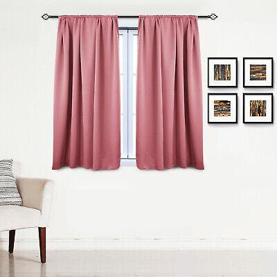 Gardinen Vorhang blickdicht mit Kräuselband Thermo Verdunkelung 250g/m2 #330-a 10