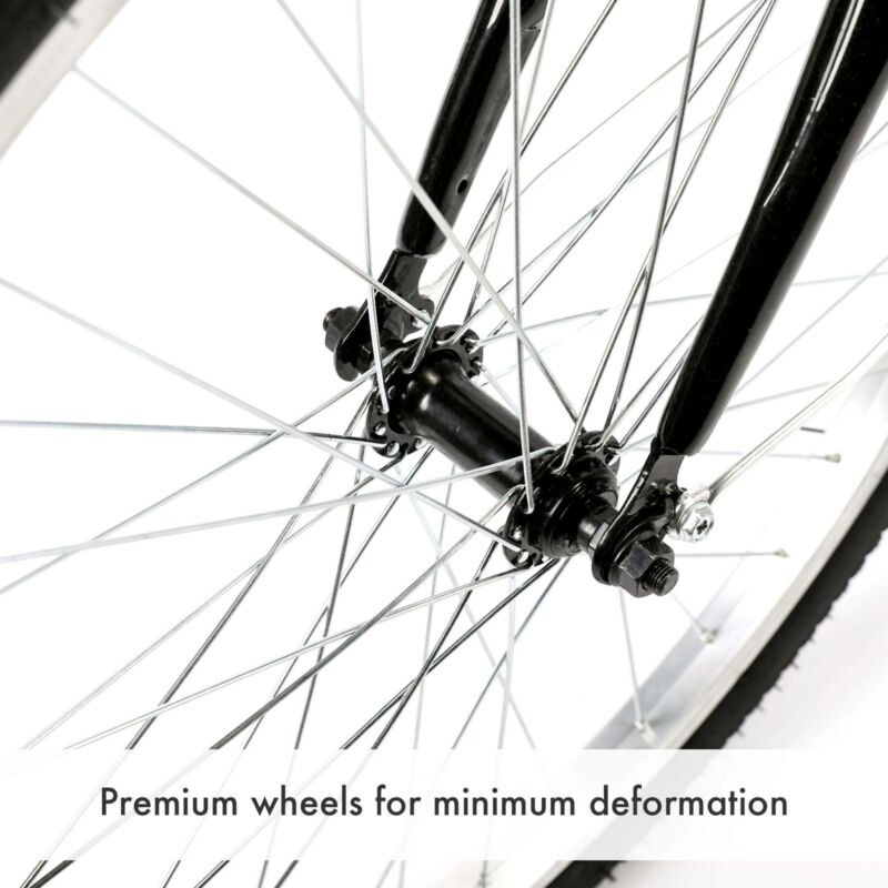 "26""/24""/20"" 8 Speed Adult Trike Tricycle 3-Wheel Bike w/Basket for Shopping 6"
