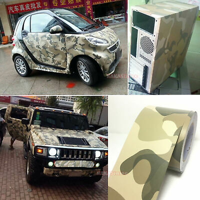 Bubbles Free Diy Car Desert Sand Camouflage Camo Vinyl Wrap Decal
