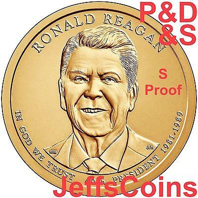 2018 P D S American Innovation Dollars Golden Proof + Box & COA 3 Coins PDS 18ga 7