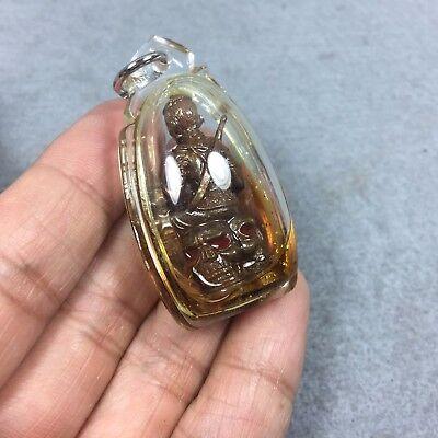 Phra Khun Paen Sit cranium skull Gamble Occult Sexual Amulet Thai fetish Holy