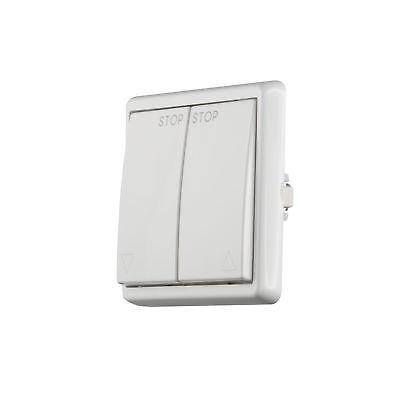 JAROLIFT Schalter Taster Wippschalter Wippenschalter Wipptaster 230VWeiß Eckig
