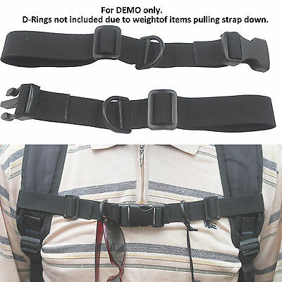 1 INCH NYLON Webbing Military OD Green Sternum Strap, Backpack Chest  Harness 483