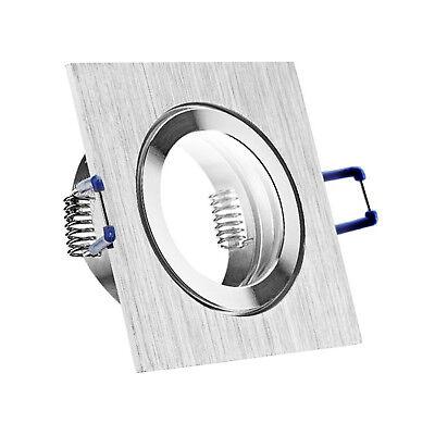 LED Bad Einbaustrahler Set IP44 GU10 230V 1W 3W 5W 7W dimmbar Feuchtraum MAR44 2