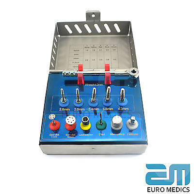 Dental Implant Bone Expander Kit Sinus Lift With Saw Disks Surgical Instruments 4