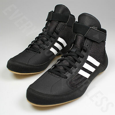 9ce32b380b047 ADIDAS HVC 2 Youth / JR Wrestling Shoes AQ3327 - Black / White (NEW) Lists  @ $59