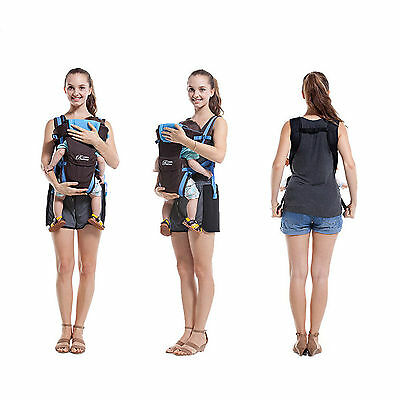 New Ergonomic Strong Breathable Adjustable Infant Newborn Baby Carrier Backpack 3
