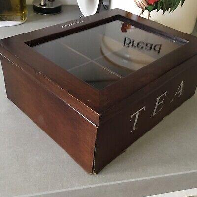 Riverdale. Caja De Te De Madera. Tea Box 7