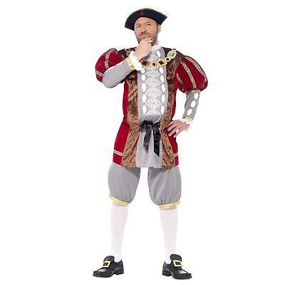 Da Uomo Adulto Lusso Re Enrico VIII 8° Storico Tudor Costume 2