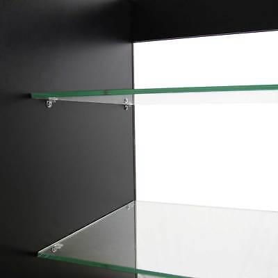 Vape Retail  Counter Glass Shelf Product Display Lockable Cabinet Black K1200 4