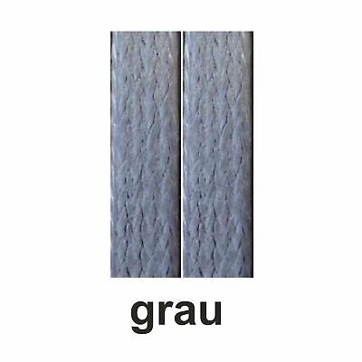 edle flache gewachste Schnürsenkel, waxed laces 75-130 cm lang  ca.5 mm breit 5