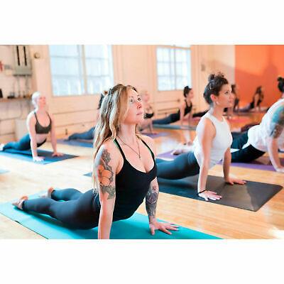Esterilla para yoga gimnasia Colchoneta de fitness Pilates deporte colchón 9