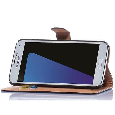 Handy Tasche für Samsung Galaxy Flip Cover Mobile Case Schutz Hülle Etui Wallet 3