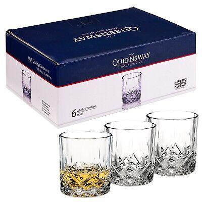 6 PCS Whiskey Tumblers Drinking Glasses Gift Boxed Set Wedding Present Xmas NEW 2