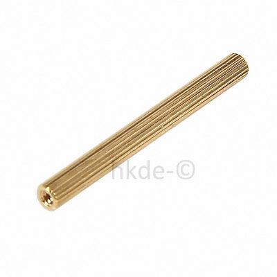 Distanzbolzen Abstandshalter Rund Messing Innen-Innen Abstandsbolzen M2*3mm~40mm