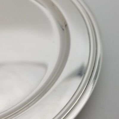Tiffany & Co. Makers Sterling Silver ~5.5'In Cookie Saucer Bread Charger Plate 6