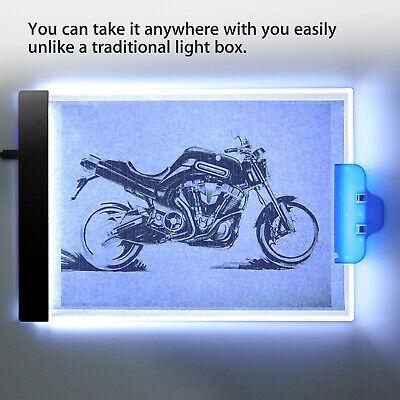 A4 USB LED Artist Tattoo Stencil Board Light Box Tracing Drawing Board Pad Table 8