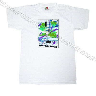 SPACE INVADER LESSON MENS T-SHIRT FUNNY GAMER RETRO GAMING DESIGN TOP COLOUR