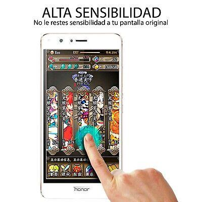 Protector Pantalla Huawei P8 Lite 2017 Cristal Templado 3D Dureza 9H 4