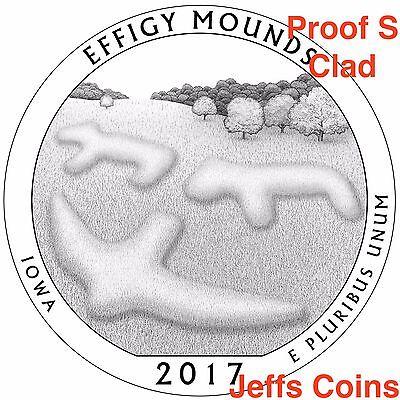2017 S Park Quarters 225th Enhanced ATB 5 Coins via U.S.Mint Set Box COA Incl. 11