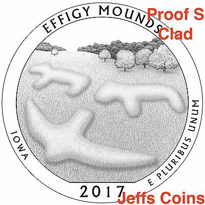 2019 S Frank Church River of No Returns Wilderness Area ID Quarter CLAD PROOF US 10