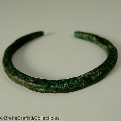 Roman Empire 1st - 3rd c. AD - 37mm Dia - Bronze Infants/Child's Bracelet 2