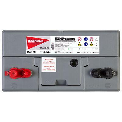 2x 12V 100Ah Batterie Décharge Lente Pour Caravane, Camping Car et Bateau 3