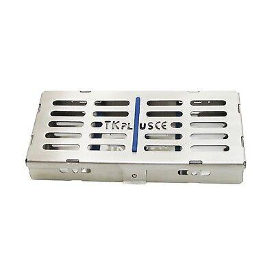 Sterilization Autolavable Cassettes for 5 Instruments Slim Style Dental Surgical 2