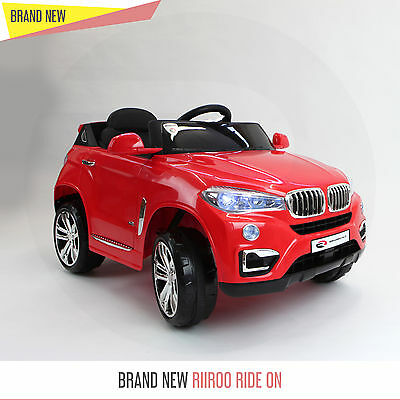 Bmw X5 Style Kids Electric Ride On Car Cars Jeep 12v Battery Car