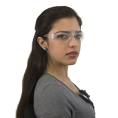 12 Pair Jorestech Clear Uv400 Lens Lot Safety Glasses Bulk New