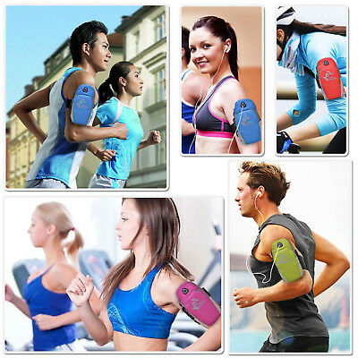 Sports Gym Running Slim Armband for Samsung Galaxy S7 S6 EDGE Plus S5 Note 9 8 7