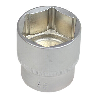 "Vaso hexagonal 36 mm para carraca 1/2"" 2"