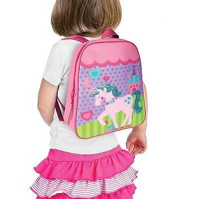 ... 2 of 3 Stephen Joseph Unicorn School Backpack for Girls - Cute Book Bag  for Kids 3 19ed47138c944