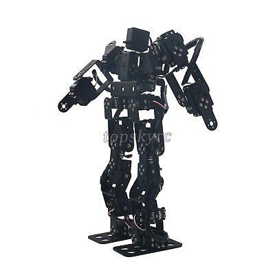 17DOF Humanoid Biped Robotic Educational Robot Kit Servo Bracket Ball Bearing tp 3