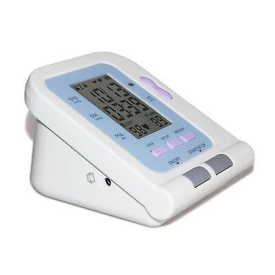 Blood Pressure Monitor Digital Upper Arm Cuff Automatic Measure Heart Rate Pulse 6