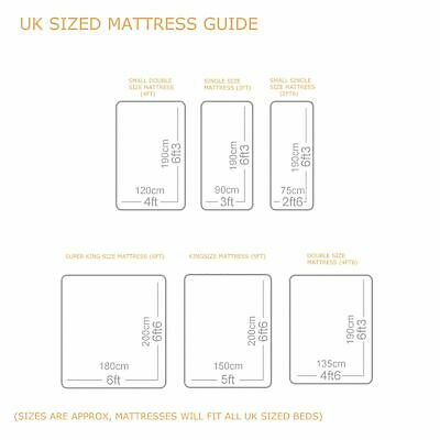 MEMORY FOAM DIVAN BED SET WITH MATTRESS AND HEADBOARD 3FT 4FT6 Double 5FT King 4