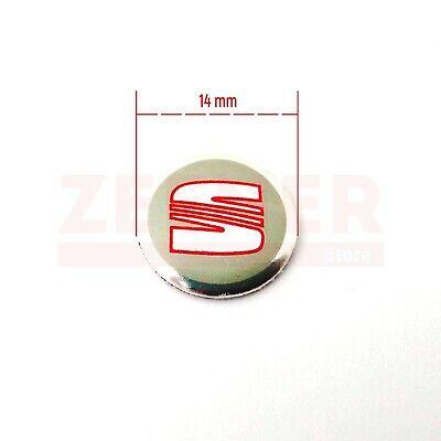 SEAT - Emblema Logo Pegatina para llave mando de coche - 14 mm - 14mm 2