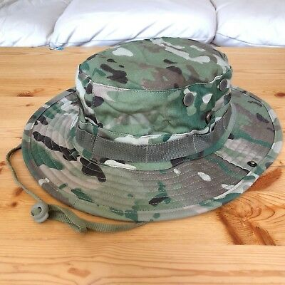 Multicam Boonie Hat US Army Woodland BDU Jungle Sun Cap Military 1 Size Fits All 3