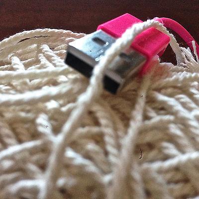 1.5mm-2mm Natural Cream Cotton Rope - macrame/pot hanger/loom/weave/boho/wallart 6