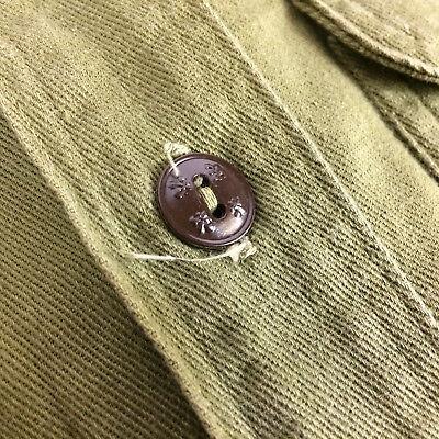 Vintage 40s 50s Sanforized Boy Scout Uniform Shirt Madisonville Ky Patch BSA Pin