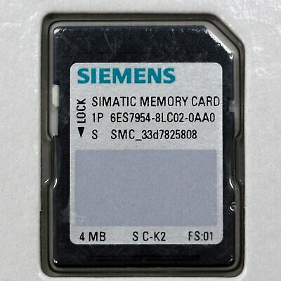 6ES7954-8LC02-0AA0 1PC New Siemens 4MB Memory Card free ship 6ES7 954-8LC02-0AA0 2