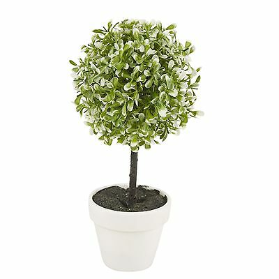Decorative Artificial Outdoor Ball Plant Tree Pot Colour Small Medium Large 7