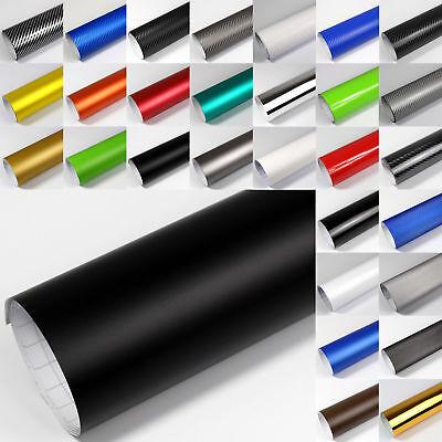 6,9€/m² PREMIUM Auto-Folie 3D 4D Carbon Matt Glänzend Chrom Gebürstet Luftkanal 2