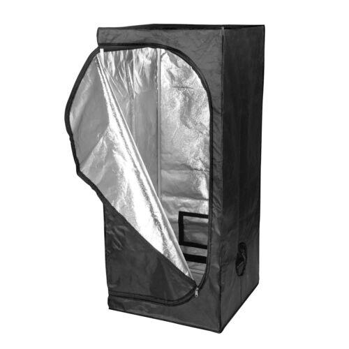 150x150x200 Premium Grow Tent Silver Mylar Indoor Bud Box Hydroponics Dark Room