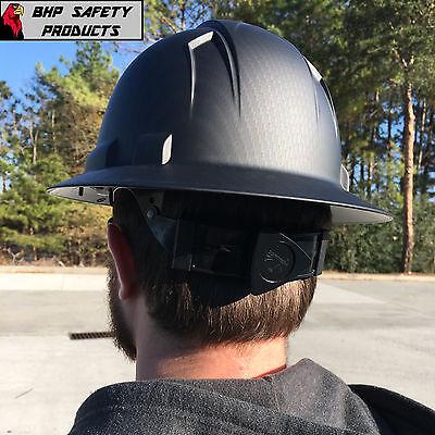 Pyramex Ridgeline Hard Hat Graphite Pattern Black Gray Full Brim Safety Hp54117 6