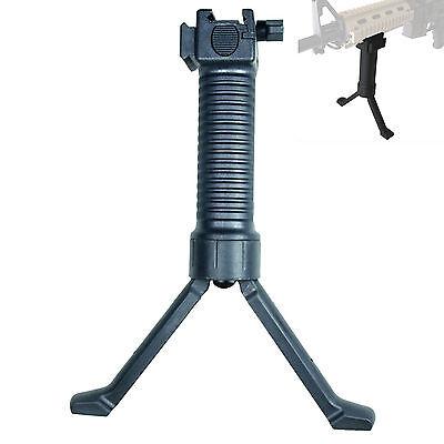 "Tactical Foregrip Bipod/&2.5/"" Picatinny Rail Section for M-Lok M-lock Handguard"