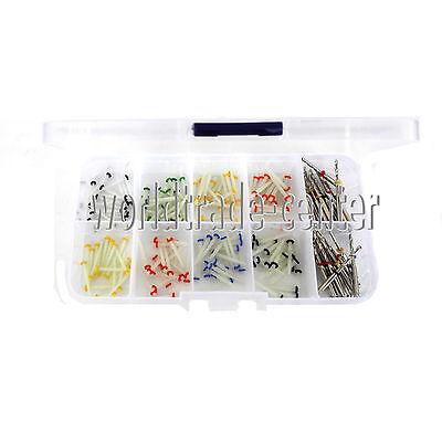 160PCS Dental Glass Fiber Post Single Refilled Package & Free For 32 PCS Drills 2
