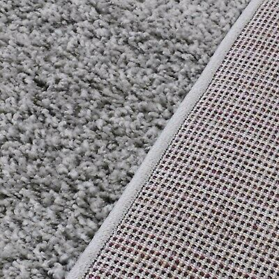 Small X Large Size Grey Thick Plain Soft Shaggy Non Shed Rug Modern Carpet Rugs 6