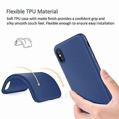 Matte Transparent Ultra-Thin Slim Case Cover Skin for iPhone X Xs/Max,11 Pro,8 5